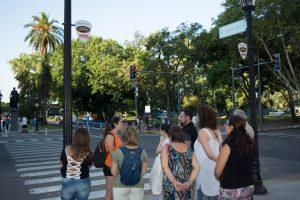 people on a walking tour in Pichincha